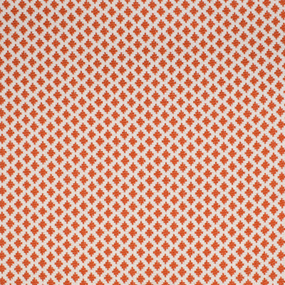 S2254 Spice Fabric: S25, DIAMOND, DOT, ORANGE AND WHITE DIAMOND, SMALL SCALE DIAMOND, ORANGE, INSIDE OUT, PERFORMANCE, ANNA ELISABETH, OUTDOOR FABRIC, BLEACH CLEANABLE