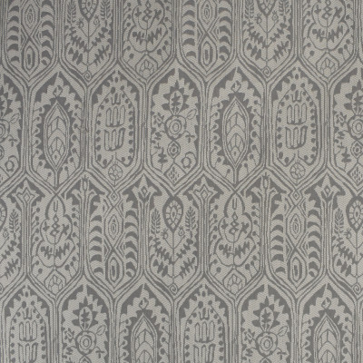 S2298 Zinc Fabric: S26, ANNA ELISABETH, CRYPTON, PERFORMANCE, CRYPTON FINISH, CRYPTON HOME, EASY TO CLEAN, ANTI-MICROBIAL, STAIN RESISTANT, IKAT, GRAY MEDALLION, MEDALLION CRYPTON, CRYPTON MEDALLION, GRAY
