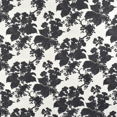 S2308 Ebony Fabric: S26, ANNA ELISABETH, CRYPTON, PERFORMANCE, CRYPTON FINISH, CRYPTON HOME, EASY TO CLEAN, ANTI-MICROBIAL, STAIN RESISTANT, BLACK FLORAL, BLACK PRINT, CRYPTON PRINT, FLORAL CRYPTON PRINT, FLORAL, BLACK