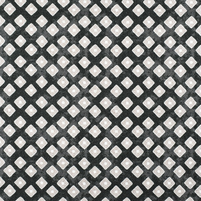 S2312 Ebony Fabric: S26, ANNA ELISABETH, CRYPTON, PERFORMANCE, CRYPTON FINISH, CRYPTON HOME, EASY TO CLEAN, ANTI-MICROBIAL, STAIN RESISTANT, DIAMOND PRINT, BLACK DIAMOND, GEOMETRIC PRINT, BLACK GEOMETRIC, PRINT, CRYPTON PRINT