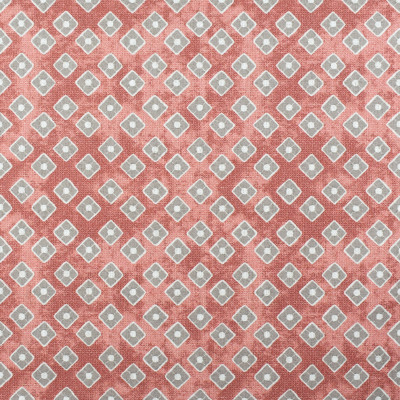 S2332 Coral Fabric: S27, ANNA ELISABETH, CRYPTON, CRYPTON HOME, PERFORMANCE, KID FRIENDLY, PET FRIENDLY, ANTI-MICROBIAL, STAIN RESISTANT, EASY TO CLEAN, DIAMOND PRINT, GEOMETRIC PRINT, CRYPTON PRINT, PINK DIAMOND, PINK GEOMETRIC, PINK, CORAL, NFPA260, NFPA 260