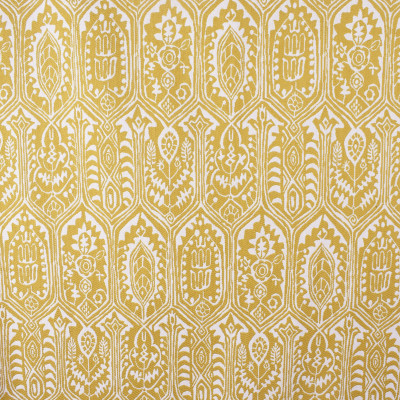 S2337 Sundrop Fabric: S27, ANNA ELISABETH, CRYPTON, CRYPTON HOME, PERFORMANCE, KID FRIENDLY, PET FRIENDLY, ANTI-MICROBIAL, STAIN RESISTANT, EASY TO CLEAN, IKAT, MEDALLION, YELLOW MEDALLION, WOVEN MEDALLION, YELLOW IKAT, YELLOW