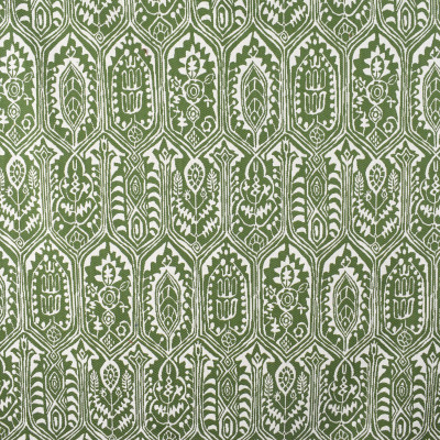 S2351 Pesto Fabric: S27, ANNA ELISABETH, CRYPTON, CRYPTON HOME, PERFORMANCE, KID FRIENDLY, PET FRIENDLY, ANTI-MICROBIAL, STAIN RESISTANT, EASY TO CLEAN, IKAT, MEDALLION, GREEN MEDALLION, WOVEN MEDALLION, GREEN IKAT