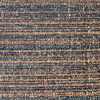 S2366 Carnelian Fabric: S27, ANNA ELISABETH, CRYPTON, CRYPTON HOME, PERFORMANCE, KID FRIENDLY, PET FRIENDLY, ANTI-MICROBIAL, STAIN RESISTANT, EASY TO CLEAN, TEXTURED STRIPE, MULTICOLOR TEXTURE, TEXTURED CHENILLE, CHENILLE STRIPE, ORANGE TEXTURE, BLUE TEXTURE, TEAL TEXTURE