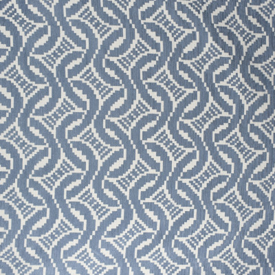 S2378 Chambray Fabric: S27, ANNA ELISABETH, CRYPTON, CRYPTON HOME, PERFORMANCE, KID FRIENDLY, PET FRIENDLY, ANTI-MICROBIAL, STAIN RESISTANT, EASY TO CLEAN, BLUE GEOMETRIC, GEOMETRIC CHENILLE, GEOMETRIC TEXTURE, CHAMBRAY, BLUE TEXTURE