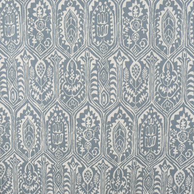 S2380 Calm Fabric: S27, ANNA ELISABETH, CRYPTON, CRYPTON HOME, PERFORMANCE, KID FRIENDLY, PET FRIENDLY, ANTI-MICROBIAL, STAIN RESISTANT, EASY TO CLEAN, IKAT, MEDALLION, BLUE IKAT, BLUE MEDALLION, DENIM, CHAMBRAY