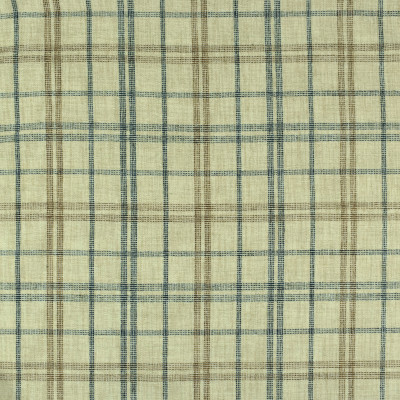 S2402 Wedgewood Fabric: S29, PLAID CHENILLE, CHENILLE PLAID, BLUE PLAID, TRADITIONAL PLAID