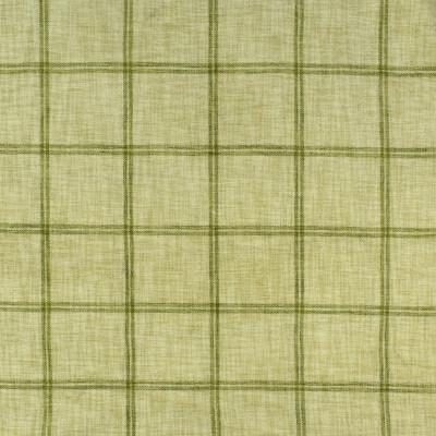 S2407 Parrot Fabric: S29, PLAID CHENILLE, CHENILLE PLAID, GREEN PLAID, KIWI, TRADITIONAL PLAID