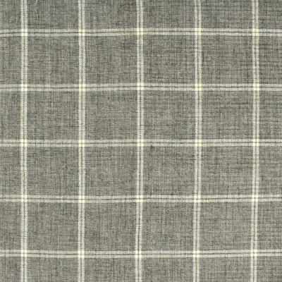 S2412 Elephant Fabric: S29, PLAID CHENILLE, CHENILLE PLAID, GRAY PLAID, GREY PLAID, TRADITIONAL PLAID