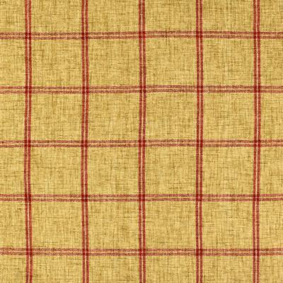 S2426 Garnet Fabric: S29, PLAID CHENILLE, CHENILLE PLAID, RED PLAID, TRADITIONAL PLAID