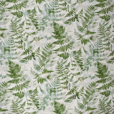 S2478 Seaglass Fabric: S31, ANNA ELISABETH, 100% COTTON, COTTON PRINT, GREEN FOLIAGE, FOLIAGE PRINT, GREEN FOLIAGE PRINT, LEAF, WINDOW, DRAPERY