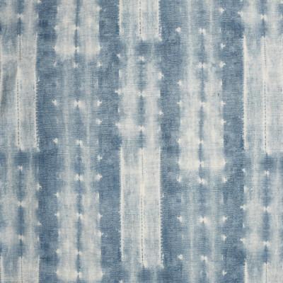 S2495 Chambray Fabric: S31, ANNA ELISABETH, 100% COTTON, COTTON PRINT, CONTEMPORARY PRINT, BLUE PRINT, SHIBORI, CONTEMPORARY STRIPE, WINDOW, DRAPERY