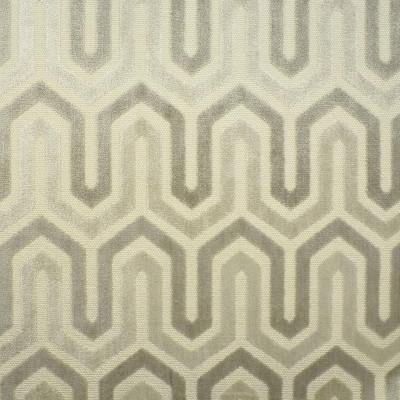 S2529 Vapor Fabric: S32, ANNA ELISABETH, CUT VELVET, NEUTRAL CUT VELVET, CHEVRON CUT VELVET, GEOMETRIC CUT VELVET, TEXTURED VELVET