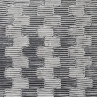 S2576 Slate Fabric: S32, ANNA ELISABETH, GRAY TEXTURE, PLEAT, GRAY PLEAT, SLATE GRAY PLEAT, PLEATED, GRAY CHENILLE, CONTEMPORARY TEXTURE, CONTEMPORARY PLEAT, SLATE