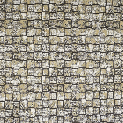 S2592 Rock Fabric: S28, ANNA ELISABETH, GEOMETRIC BROWN, BROWN GEOMETRIC, GEOMETRIC WOVEN, NFPA260, NFPA 260, WINDOW, DRAPERY