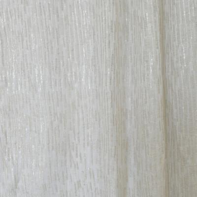 S2600 Pearl Fabric: S33, WINDOW, ANNA ELISABETH, DRAPERY, METALLIC EMBROIDERY, SEQUIN DRAPERY, METALLIC, SEQUIN, CONTEMPORARY EMBROIDERY, CONTEMPORARY WINDOW, EMBROIDERY, WHITE, WHITE EMBROIDERY