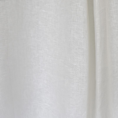 S2601 Winter White Fabric: S33, WINDOW, ANNA ELISABETH, DRAPERY, WHITE, LINEN, 100% LINEN, WHITE LINEN, SOLID WHITE DRAPERY, WHITE WINDOW, WHITE DRAPERY, SOLID WHITE LINEN, CASEMENT, WHITE CASEMENT