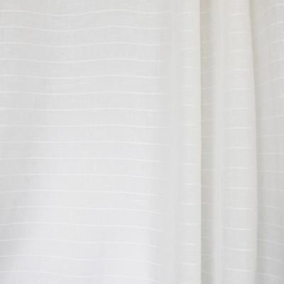 S2603 Cloud Fabric: S33, WINDOW, ANNA ELISABETH, DRAPERY, WHITE, WHITE STRIPE, STRIPE WINDOW, WHITE WINDOW STRIPE, WINDOW STRIPE, WHITE FAUX LINEN, FAUX LINEN, FAUX LINEN STRIPE, STRIPE FAUX LINEN