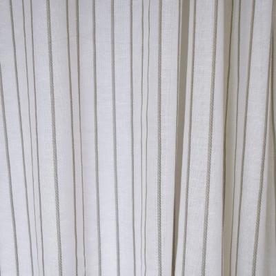 S2617 Smoke Fabric: S33, WINDOW, ANNA ELISABETH, DRAPERY, GRAY, GREY, GRAY STRIPE, STRIPE WINDOW, GRAY WINDOW STRIPE, WINDOW STRIPE, GRAY FAUX LINEN, FAUX LINEN, FAUX LINEN STRIPE, STRIPE FAUX LINEN, GRAY WINDOW