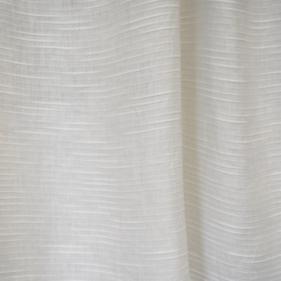S2622 Winter White Fabric: S33, WINDOW, ANNA ELISABETH, DRAPERY, WHITE, WHITE STRIPE, STRIPE WINDOW, WHITE WINDOW STRIPE, WINDOW STRIPE, WHITE FAUX LINEN, FAUX LINEN, FAUX LINEN STRIPE, STRIPE FAUX LINEN, FAUX LINEN TEXTURE, STRIPE TEXTURE, TEXTURE