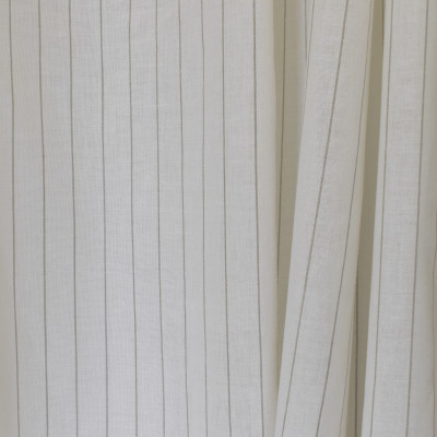 S2636 Linen Fabric: S33, WINDOW, ANNA ELISABETH, DRAPERY, NEUTRAL STRIPE, STRIPE WINDOW, NEUTRAL WINDOW STRIPE, WINDOW STRIPE, NEUTRAL FAUX LINEN, FAUX LINEN, FAUX LINEN STRIPE, STRIPE FAUX LINEN, NATURAL