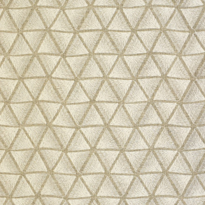 S2649 Oyster Fabric: S34, WINDOW, ANNA ELISABETH, DRAPERY, EMBROIDERY, GEOMETRIC, GEOMETRIC EMBROIDERY, TRIANGLES, WHITE, NEUTRAL, WHITE EMBROIDERY, NEUTRAL EMBROIDERY, WHITE GEOMETRIC