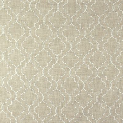 S2654 Oyster Fabric: S34, WINDOW, ANNA ELISABETH, DRAPERY, EMBROIDERY, MEDALLION EMBROIDERY, MEDALLION, LATTICE, LATTICE EMBROIDERY, WHITE, NEUTRAL, WHITE MEDALLION, WHITE EMBROIDERY, NEUTRAL MEDALLION, NEUTRAL EMBROIDERY, WHITE LATTICE