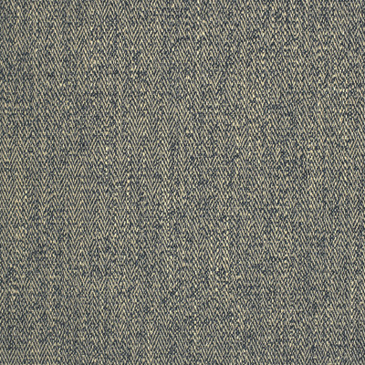 S2769 Indigo Fabric: S36, ANNA ELISABETH, CRYPTON, CRYPTON HOME, PERFORMANCE, EASY TO CLEAN, ANTI-MICROBIAL, STAIN RESISTANT, NFPA260, NFPA 260, BLUE, HERRINGBONE, BLUE HERRINGBONE
