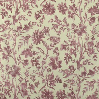 S2832 Claret Fabric: S38, ANNA ELISABETH, PINK FLORAL PRINT, PINK, FLORAL, PRINT, FLORAL PRINT