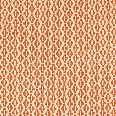 S2846 Rust Fabric: S38, ANNA ELISABETH, NFPA260, NFPA 260, GEOMETRIC, WOVEN, ORANGE, ORANGE GEOMETRIC, ORANGE WOVEN, GEOMETRIC WOVEN, CHAIR SCALE, SMALL SCALE