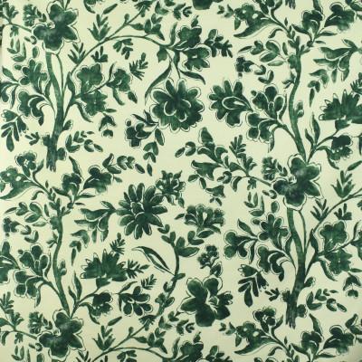 S2874 Woodland Fabric: S38, ANNA ELISABETH, GREEN, FLORAL, PRINT, GREEN PRINT, GREEN FLORAL, FLORAL PRINT