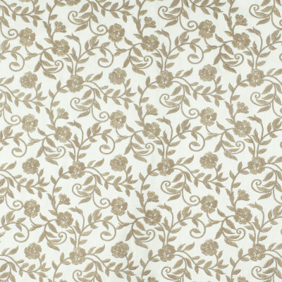 S2896 Marble Fabric: S39, ANNA ELISABETH, NFPA260, NFPA 260, FLORAL, EMBROIDERY, NEUTRAL, NEUTRAL FLORAL, NEUTRAL EMBROIDERY, FLORAL EMBROIDERY