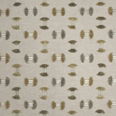 S2901 Travertine Fabric: S39, ANNA ELISABETH, NFPA260, NFPA 260, CONTEMPORARY, EMBROIDERY, CONTEMPORARY EMBROIDERY, NEUTRAL EMBROIDERY, FIL COUPE, EYELASH EMBROIDERY, TEXTURE