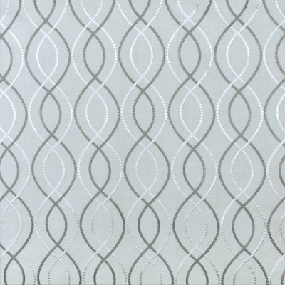 S2952 Steel Fabric: S40, ANNA ELISABETH, NFPA260, NFPA 260, MEDALLION, LATTICE, EMBROIDERY, GRAY, GREY, MEDALLION EMBROIDERY, LATTICE EMBROIDERY, OGEE, WINDOW, GRAY EMBROIDERY