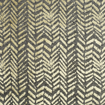 S2973 Pewter Fabric: S40, ANNA ELISABETH, CONTEMPORARY, CHENILLE, GRAY, CHEVRON, ANIMAL, SKIN, TEXTURE, CONTEMPORARY CHEVRON, ANIMAL CHENILLE, CHENILLE TEXTURE