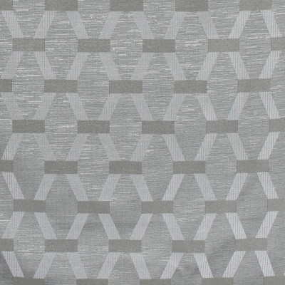 S2975 Silver Sage Fabric: S40, ANNA ELISABETH, NFPA260, NFPA 260, GEOMETRIC, EMBROIDERY, GRAY, METALLIC, METALLIC EMBROIDERY, GEOMETRIC EMBROIDERY, GRAY EMBROIDERY, GRAY GEOMETRIC, METALLIC GRAY, WINDOW