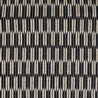 S2989 Zebra Fabric: S40, ANNA ELISABETH, NFPA260, NFPA 260, MADE IN USA, CONTEMPORARY, WOVEN, BLACK, GLOBAL, GEOMETRIC, CONTEMPORARY GEOMETRIC, GEOMETRIC WOVEN