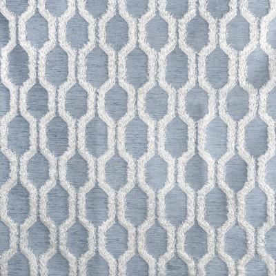 S3023 Calm Fabric: S41, ANNA ELISABETH, NFPA 260, NFPA260, GEOMETRIC, TEXTURE, CHENILLE, BLUE, GEOMETRIC TEXTURE, GEOMETRIC CHENILLE, BLUE TEXTURE, BLUE CHENILLE