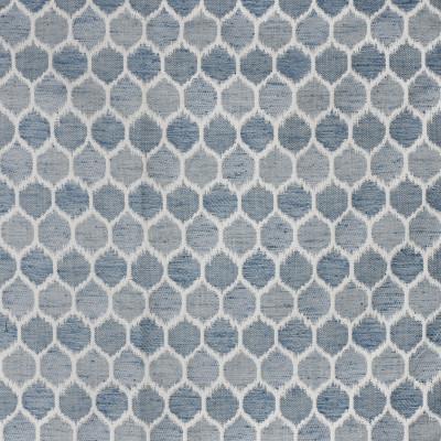 S3027 Indigo Fabric: S41, ANNA ELISABETH, INDIGO, BLUE, GEOMETRIC, WOVEN, BLUE WOVEN, BLUE GEOMETRIC, GEOMETRIC WOVEN