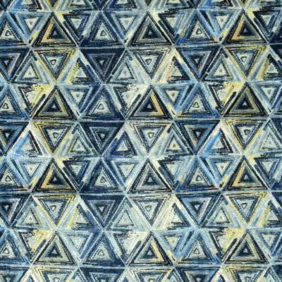 S3043 Denim Fabric: S41, ANNA ELISABETH, GEOMETRIC, VELVET, TEXTURE, BLUE, CUT VELVET, GEOMETRIC VELVET, GEOMETRIC TEXTURE, BLUE CUT VELVET, BLUE VELVET