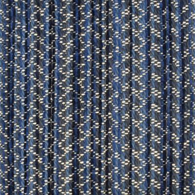 S3047 Denim Fabric: S41, ANNA ELISABETH, MADE IN USA, NFPA 260, NFPA260, STRIPE, BLUE, TEXTURE, BLUE TEXTURE, BLUE STRIPE, TEXTURED STRIPE