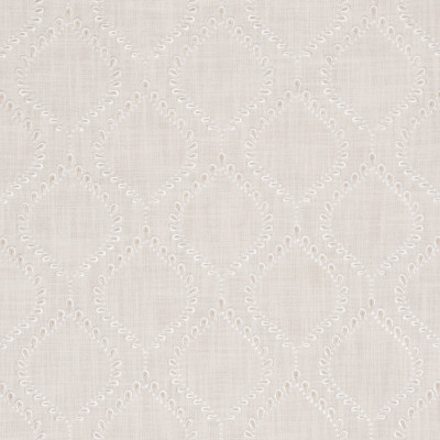 S3094 Ivory Fabric: M03, MEDALLION, OGEE, EMBROIDERY, WINDOW, NEUTRAL, IVORY
