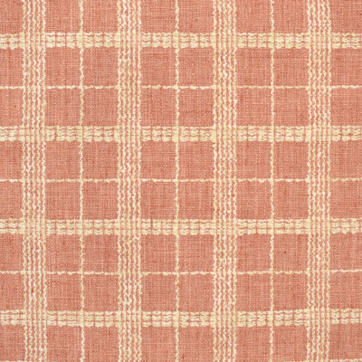 S3104 Soft Coral Fabric: M03, PLAID, CHECK, TEXTURE, WOVEN, PINK, CORAL