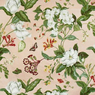 S3105 Petal Fabric: M03, FLORAL, PRINT, COTTON, 100% COTTON, COTTON PRINT, PINK, PETAL, BUTTERFLY, FLOWER