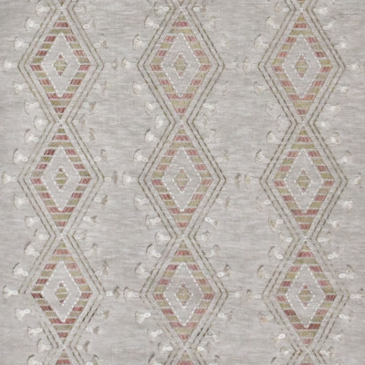 S3114 Cameo Fabric: M03, DIAMOND, GEOMETRIC, CONTEMPORARY, METALLIC, EMBROIDERY, WINDOW, TEXTURE, NEUTRAL, PINK, EYELASH, FIL COUPE