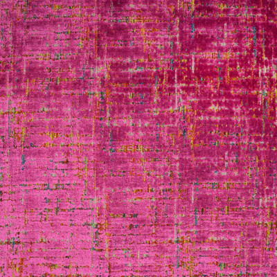 S3122 Fuchsia Fabric: M03, CONTEMPORARY, VELVET, CUT VELVET, TEXTURE, PINK, MULTI