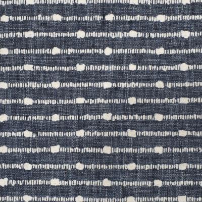 S3131 Marina Fabric: M03, STRIPE, TEXTURE, WOVEN, BLUE, INDIGO
