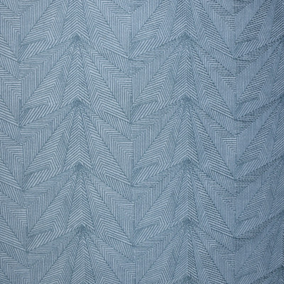 S3133 Indigo Fabric: M03, GEOMETRIC, CONTEMPORARY, EMBROIDERY, WINDOW, BLUE, INDIGO, DENIM