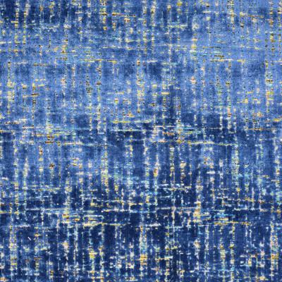 S3135 Sapphire Fabric: M03, CONTEMPORARY, VELVET, CUT VELVET, TEXTURE, BLUE, SAPPHIRE, MULTI
