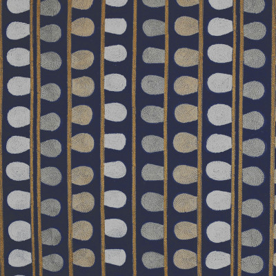 S3136 Sparrow Fabric: M03, CONTEMPORARY, STRIPE, DOT, EMBROIDERY, WINDOW, BLUE, NEUTRAL